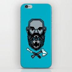 Wild BEARd iPhone & iPod Skin