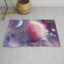 Pink Space Dream Rug