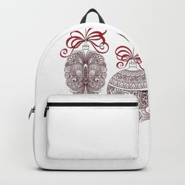 Christmas Ornaments Backpack