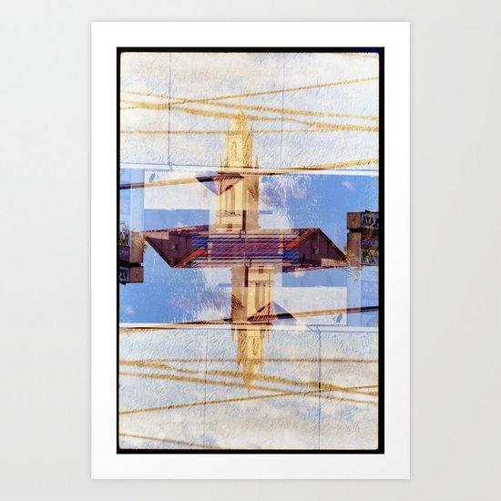 irit (35mm multi exposure) Art Print