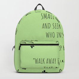 """""""Walk away from friendships that make you feel small and insecure """"  