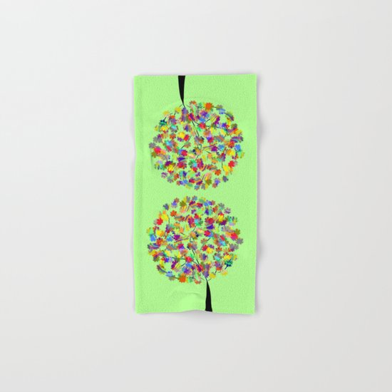 Tree of colors Hand & Bath Towel