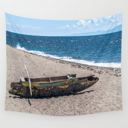Sea Kayak Stripped By Nature Wall Tapestry