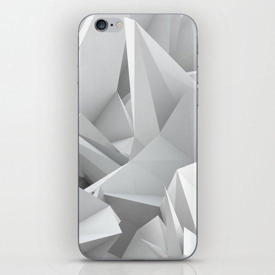 White Noiz iPhone & iPod Skin