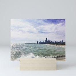 Lake Michigan Chicago Summer Mini Art Print