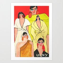 Fashion week Mexico Art Print