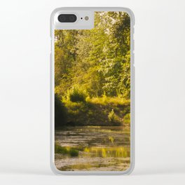Something Floats Clear iPhone Case