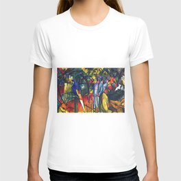 Hyacinth Macaw and Zoological Garden by August Macke T-shirt