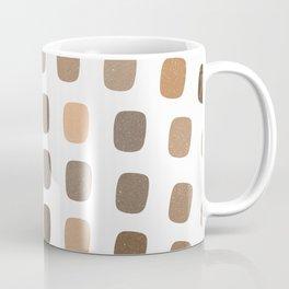 Earthtone Squares Coffee Mug