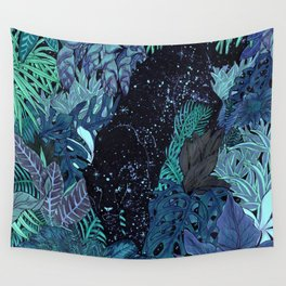 The Jungle at Night Colour Version Wall Tapestry