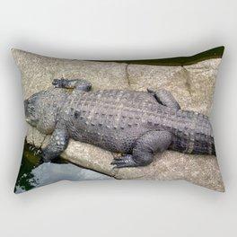 Crocs at the Zoo Rectangular Pillow