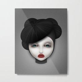 Misfit - McQueen Metal Print