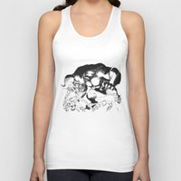 berserk Tank Tops featuring Guts & Griffith vs Zodd by Vortha