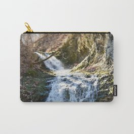 Alone in Secret Hollow with the Caves, cascades, and Critters, No.4 of 21 Carry-All Pouch
