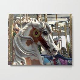 Carousel horse 02 Metal Print