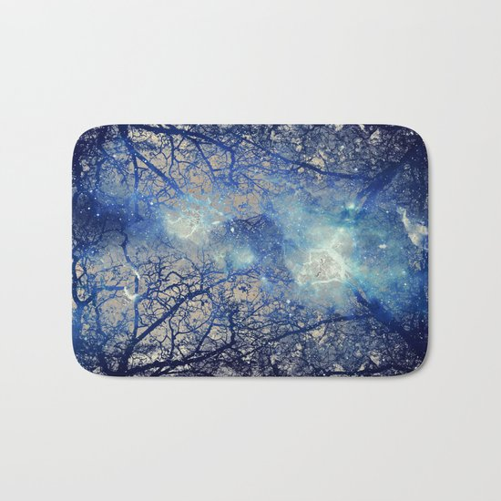 Winter Wood Bath Mat