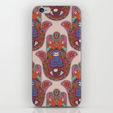 Hamsa Sloth iPhone & iPod Skin