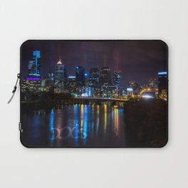 Philly Skyline Glowing Laptop Sleeve