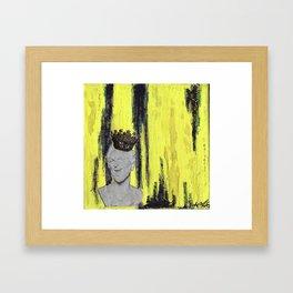 Glam & Glitter Framed Art Print