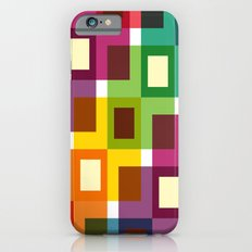 Colorful square pattern Slim Case iPhone 6s