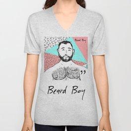 Beard Boy: Raul Unisex V-Neck