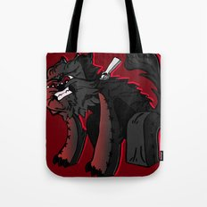 Curse of the furry Wereblock - Minecraft Avatar Tote Bag