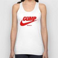 forrest gump Tank Tops featuring Gump- JustDoIt III by IIIIHiveIIII