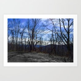 Spring Hike Art Print