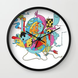 L.A. Bound Wall Clock