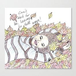 Autumn lover Canvas Print