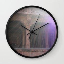 Awaking in India Wall Clock