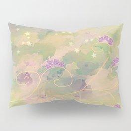 purple flower Texture Pillow Sham