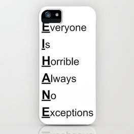 EIHANE iPhone Case