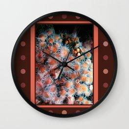 Coral Polyps Wall Clock