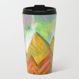 Autumn Mountain Peaks Travel Mug