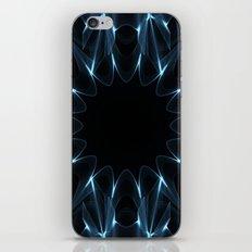 Kaleidoscope in Blue iPhone & iPod Skin