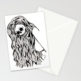 she's a natural Stationery Cards