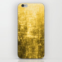 SunYellowTextured & Distressed Design iPhone Skin