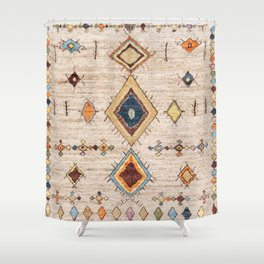 N250 - Oriental Heritage Berber Traditional Moroccan Style Shower Curtain