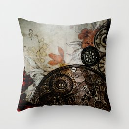 Memories Unlocked Throw Pillow