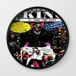 """Code Name: King""  - Comic Book Promo Poster  Wall Clock"