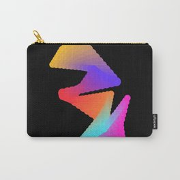 Abstract minimalism coloured creature Carry-All Pouch