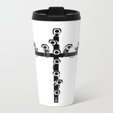 new world order Metal Travel Mug