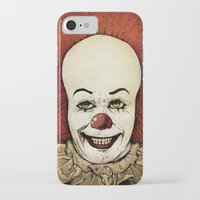 pennywise iPhone & iPod Cases featuring It - Pennywise (Color Version) by Sinpiggyhead