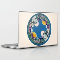 mandala Laptop & iPad Skins featuring Mandala by Abundance