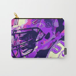 CALVIN JOHNSON // NFL  GRIDIRON ILLUSTRATIONS Carry-All Pouch