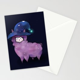 Witch Alpaca Stationery Cards