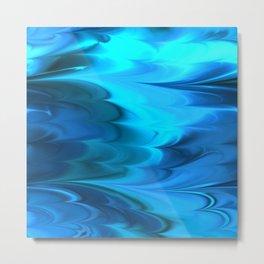Wave Caustics I Metal Print