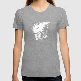 White Anime Hero Character T-shirt