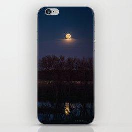 Supermoon Reflected iPhone Skin